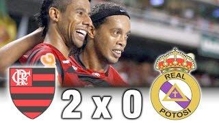 Flamengo 2 x 0 Real Potosi | Taça Libertadores de 2012 | Melhores Momentos e Gols