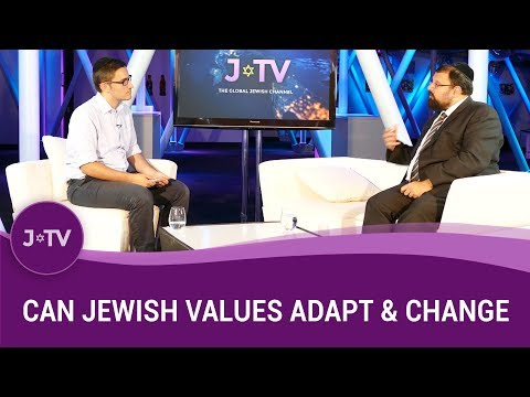Can the world's values impact Jewish values? Does, and how can Jewish law adapt to societal change?