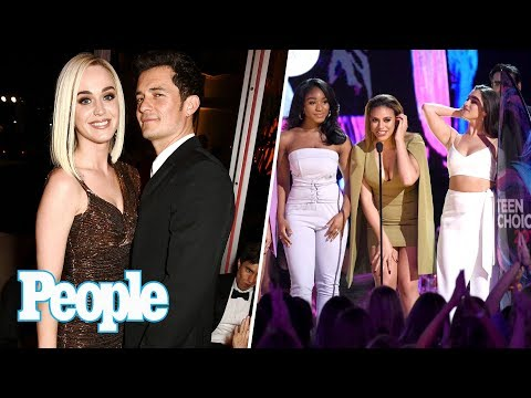 Katy Perry & Orlando Bloom Spotted Together, 2017 Teen Choice Awards Recap | People NOW | People