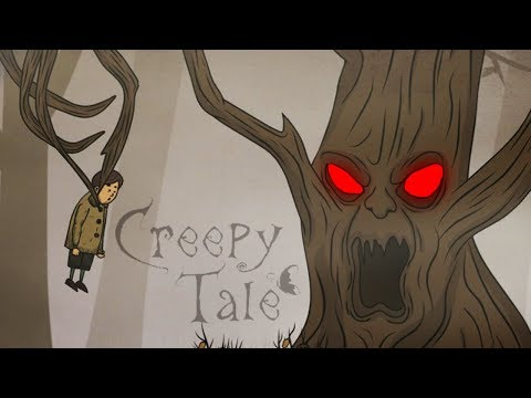 НА МЕНЯ НАПАЛО ЗЛОЕ ДЕРЕВО! Приключения МАЛЬЧИКА в СТРАШНОМ ЛЕСУ Creepy Tale #3