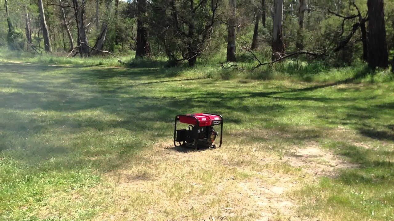 portable sel generator 3KVA with remote control start