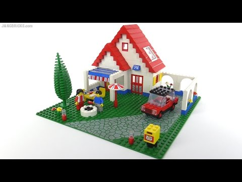 LEGO classic town Holiday Home from 1983! set 6374 - YouTube
