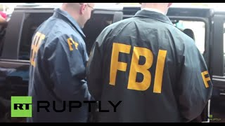 USA: FBI agents collect evidence from CONCACAF HQ following FIFA arrests