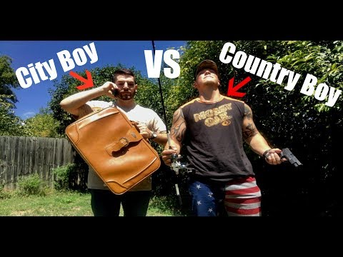 The Daily Activities of a Country Boy vs a City Boy