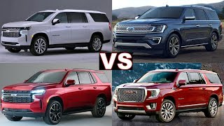 Top 5 America Full-Size Luxury SUVs! (2020 2021) GMC Yukon, Chevy Tahoe, Ford Expedition! (Review)