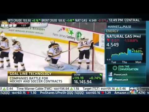 CNBC Interview With VidOvation On NHL's Wireless HD SDI GoalCam