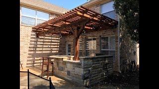 Gambar cover Pergola & Outdoor Kitchen in Frisco, TX