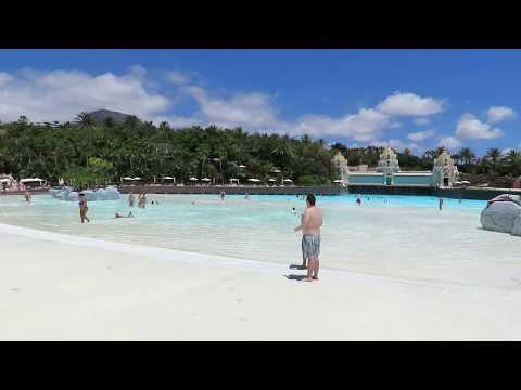 Siam Park in Tenerife, World largest artificial wave, Canary Island. Holiday 2017 thumbnail