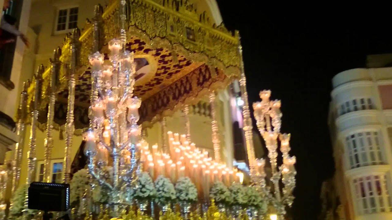 Virgen de gracia m laga 2015 curva calle c rcer youtube for Calle palma del rio malaga