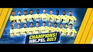 Peshawar Zalmi Wins PSL Final | Champions Of PSL 2