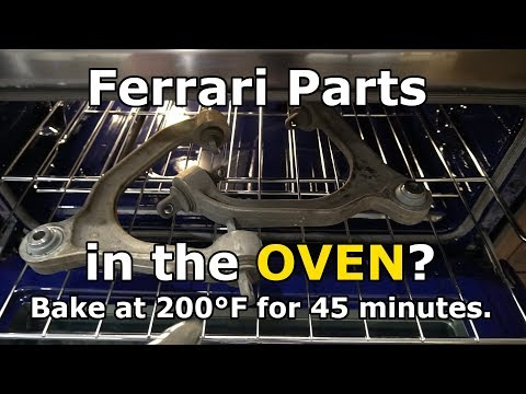 How to replace the upper ball joints on a Ferrari F430 or 360
