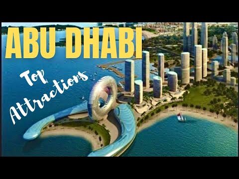 Beautiful Abu Dhabi Top 5 Attractions City Tour *HD*