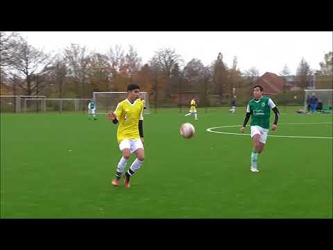 Øst 1   U14 Næstved vs  Dragør 2  halvleg