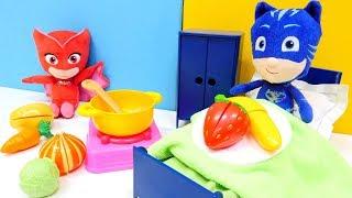 Магазин іграшок - Герої в Масках - Готуємо корисну їжу