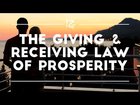 The Giving and Receiving Law of Prosperity - Randy Gage