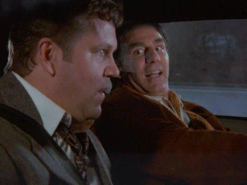 Kramer test drives car on Seinfeld