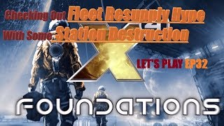 BETA Patch 2.50 B3 Fleet resupply worth the hype? Fleets and station destruction X4 Foundations EP32