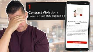 DoorDash Dasher Contract Violation (Explained)