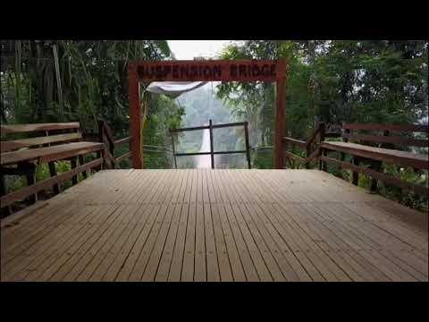 Situ Gunung Suspension Bridge  soundtrack by Coldplay -miracle