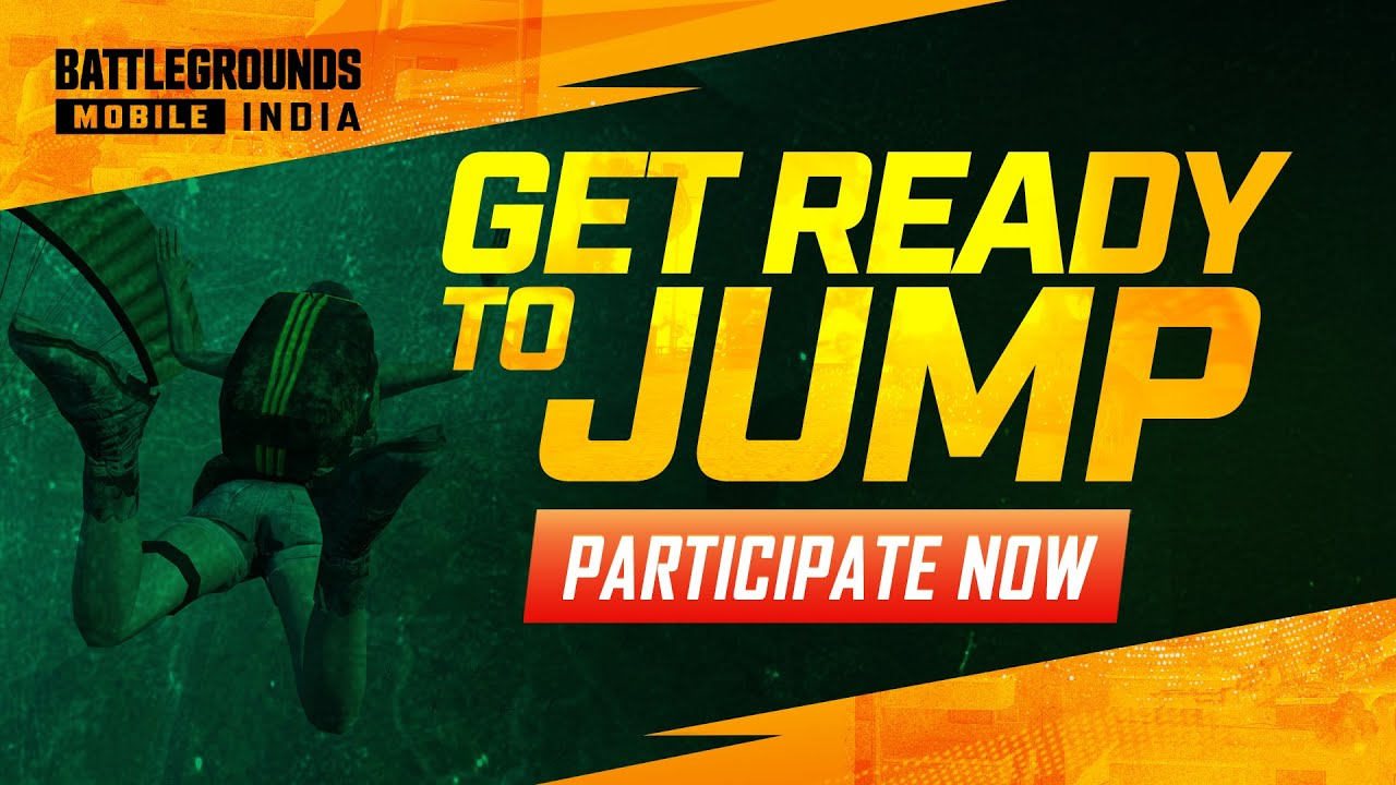 Get Ready To Jump - Community Event | BATTLEGROUNDS MOBILE INDIA