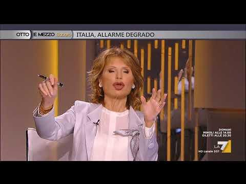 Otto e mezzo - Italia, allarme degrado (Puntata 21/04/2018)