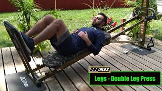GR8FLEX Leg Exercises - Double Leg Press