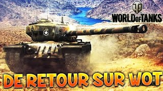 Mon Retour sur World of Tanks - Gameplay PC Fr