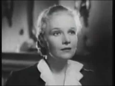 1938 Thrilling Whodunit! Agatha Christie story ~ Ann Harding, Basil Rathbone Black White Movie