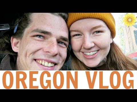 WE GOT STUCK IN THE SNOW + WENT HOME | OREGON VLOG #4 | MEG + FIN