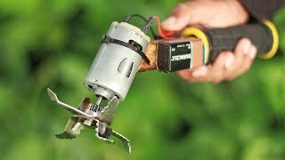 How to Make Powerful GRASS CUTTER