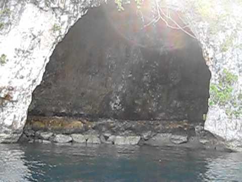 Rock Islands, Palau, WWII era Japanese caves