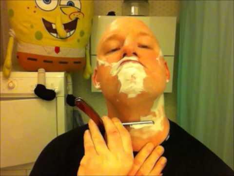 hur rakar man snoppen