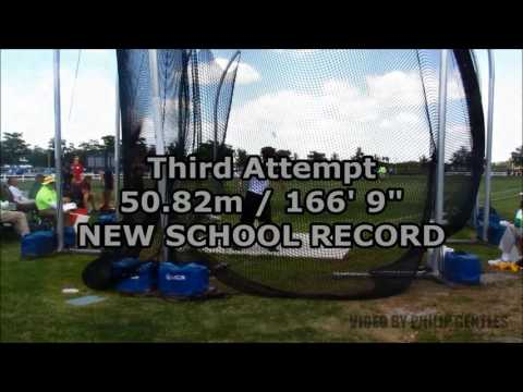 2017 FHSAA State Track and Field Finals - 2A Boys Discus