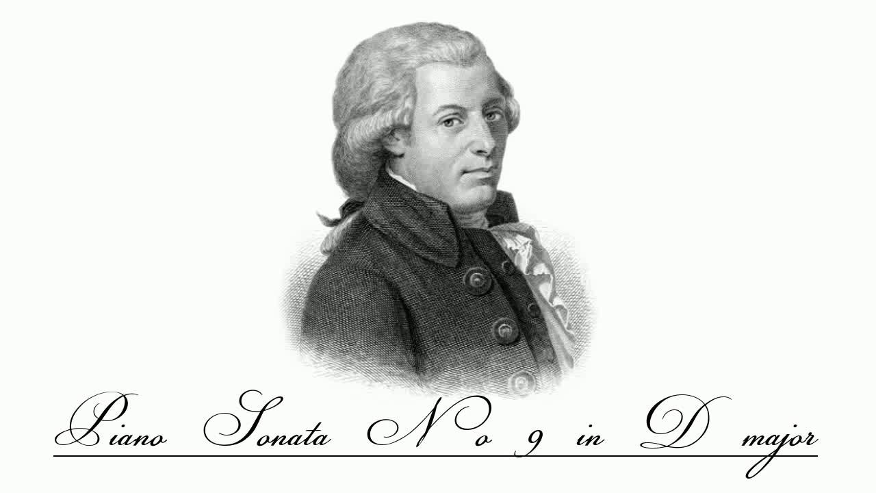 W. A. Mozart - Piano Sonata No.9 in D major, K 311/284c ~ I. Andante con spirito [1/3]