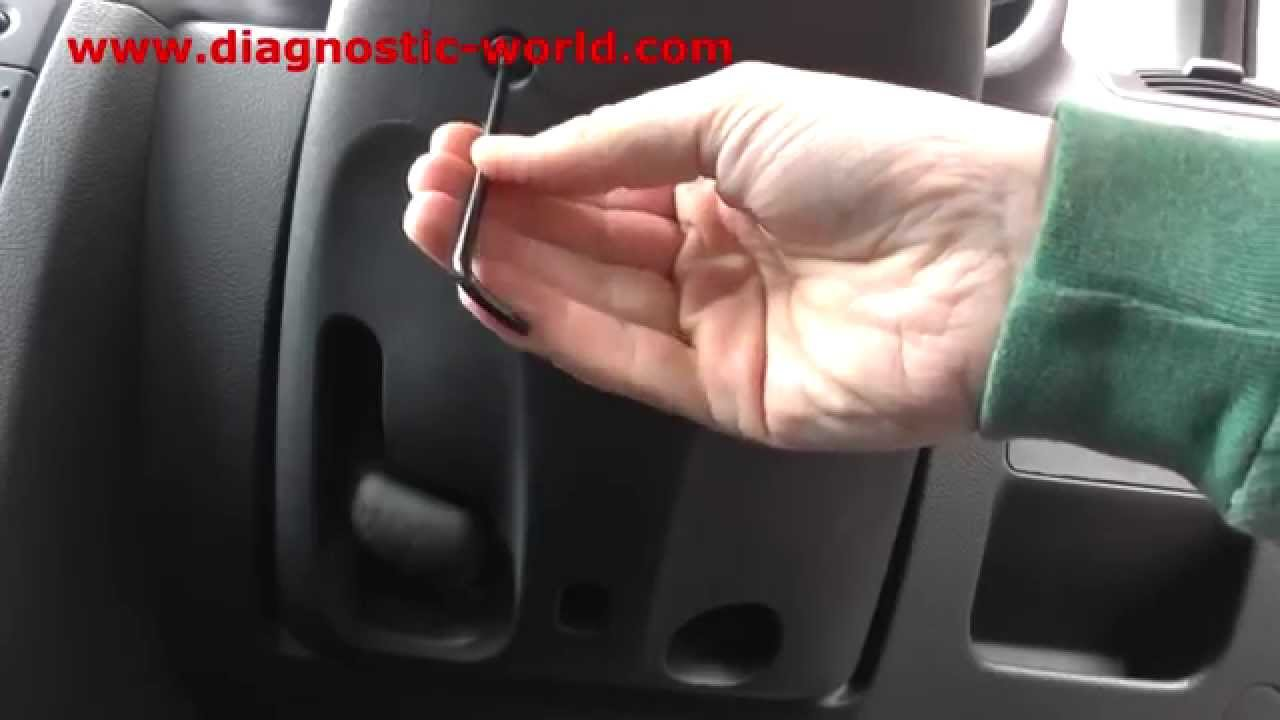 Clio 2 Airbag Wiring Diagram Location Lymph Nodes Renault Steering Wheel Removal Inc 172 182 Youtube