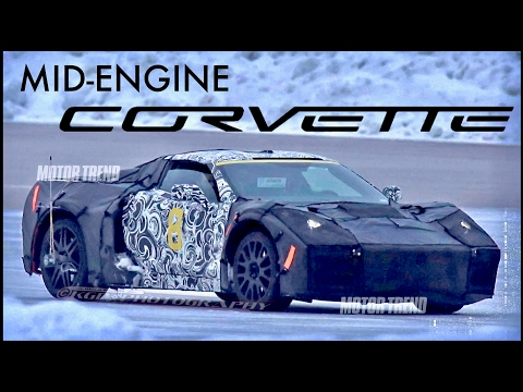 2019 Mid-Engine Corvette: IN THE WILD (Spy Photos & What We Know)