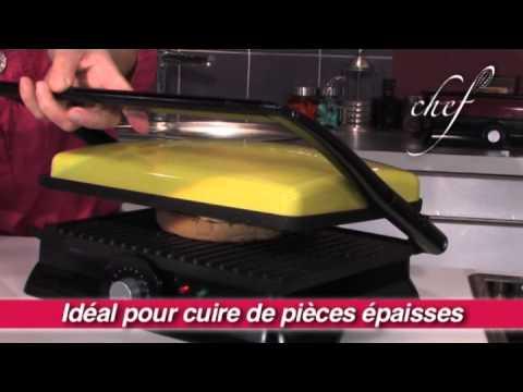 grille viande lectrique youtube. Black Bedroom Furniture Sets. Home Design Ideas