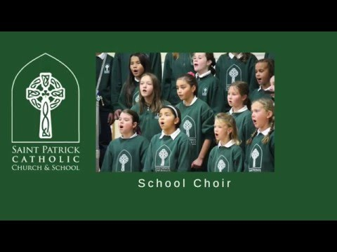 The Water is Wide   Saint Patrick Catholic School Choir   Tacoma, WA
