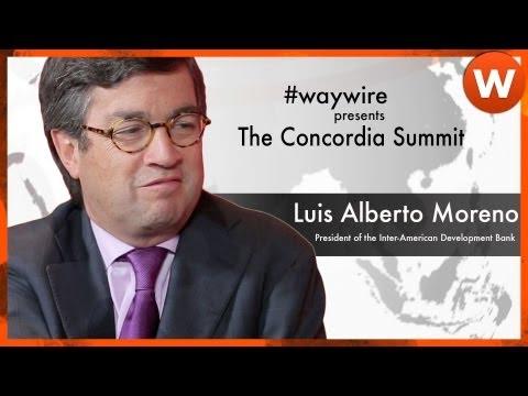 Luis Alberto Moreno talks Public Private Partnerships #waywire