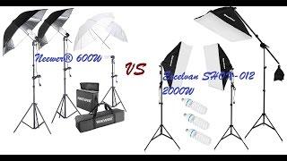 Neewer vs Excelvan Studio Light System-Comparison Video