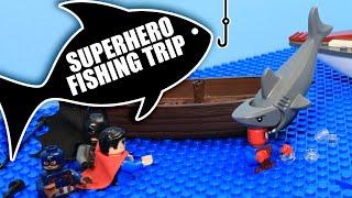 LEGO Superhero Fishing Trip   LEGO Stop Motion Video