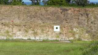 bullet trace to target