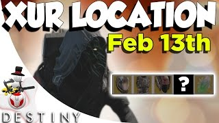 Destiny - Xur Location - Unlucky For Some, Or Most? - February Friday The 13th