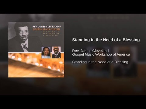 "VGSG Presents: Rev. James Cleveland's GMWA Mass Choir - ""Standing In The Need of A Blessing"" VHS"