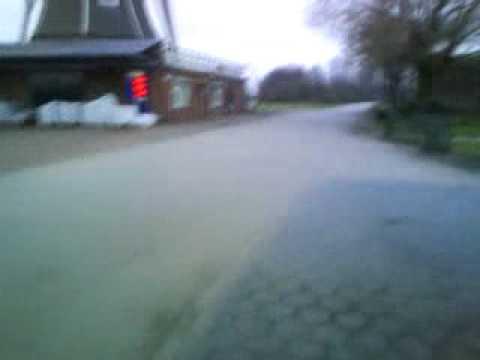 achterwiel stunt Bruggink