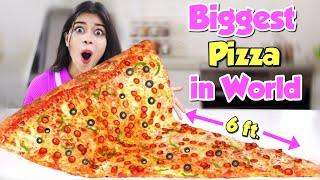 Making the World's Biggest Pizza!🍕दुनिया का सबसे बड़ा पिज्जा Rs. 10000😱 *OMG*
