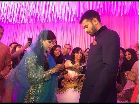 Patna: Aishwarya Rai संग हुई Tej Pratap की सगाई, दोनों ने पहनाई अंगूठी | ABP News Hindi