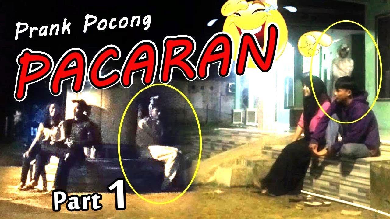 Kompilasi Prank Pocong #Pacaran Lucu Bikin Ngakak !!!                     #videolucu #prankpocong