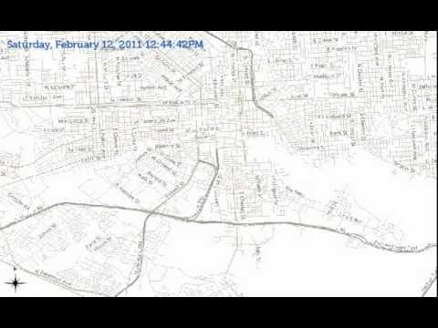 A day in the life of the Charm City Circulator - YouTube Charm City Circulator Map on