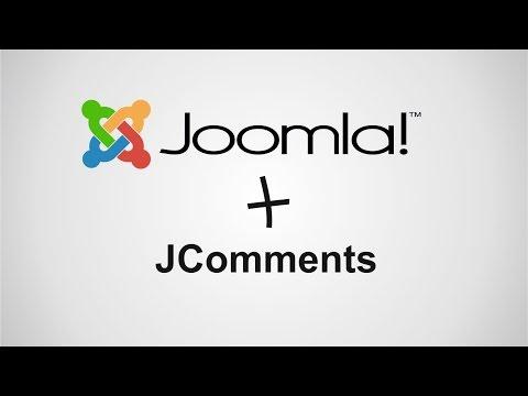 Установка и настройка компонента комментариев JComments